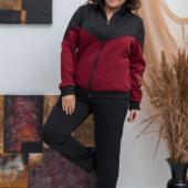 Женский спортивный костюм трехнитка на флисе р. 50-52