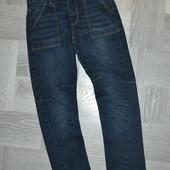 Стильні джинси -стрейч на 7-8 років