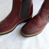 Стильные ботинки Oxmox(Германия) 39 -40 р-длина стельки-25,3