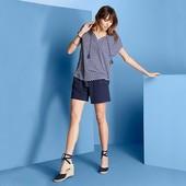 Красивая узорчатая блуза от Tchibo (Германия), 40/42 евро