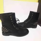 еко шкіра ботинки  38