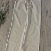Женские льняные штаны. Размер m. В хорошем состоянии.