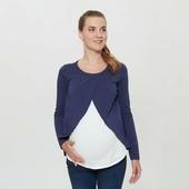 Отличный женский лонгслив для беременных Esmara Германия размер евро S (36/38)