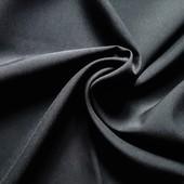 Черный габардин, отрез 59*150см, ткань из Европы, секонд