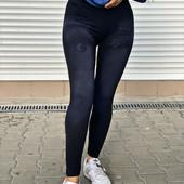 Плотные лосины под джинс, размер 42-46