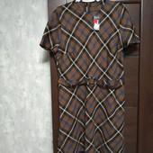 Фирменное новое красивое платье р.16-18