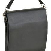 Мужская сумка-планшет Dr.Bond. Клапан из натуральной кожи