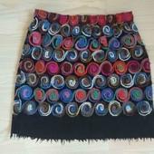 Роскошная юбка из шерсти ручной работы, S,M