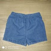 Брендовые вещи деткам@ Джинсовые шорты на 2-4 года замеры на фотодевочку