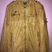 демисезонная мужская куртка из эко кожи от cipo&baxx