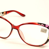 """Новая коллекция!!Стильные имиджевые очки """"Кошечки"""" с диоптриями от +1,5 до +4"""