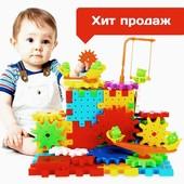Детский развивающий конструктор Funny Bricks, 81 деталь!