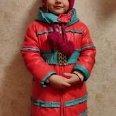 Курточка на 2.5-4 годика+ шапочка