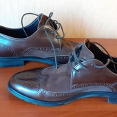 Туфлі броги 38р. шкіряні Navyboot
