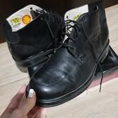 Демисезонные кожаные ботинки Borelli