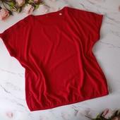 ❤❤ Шикарная блуза из комбинированных тканей от Tchibo, размер 2XL