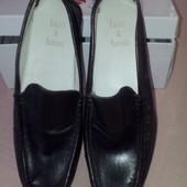 Новые лоферы мокасины туфли