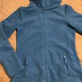 Плотна флісова кофта-куртка розмір С-М або 36/38 євро