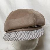 Теплая шапка/кепка под замш,на меху