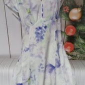 Вау! Шикарное шифоновое платьице размер 50