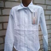 новая блузочка 140,146. см.хлопок.