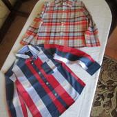 Дві сорочки на 4-5 років оригінал Tommy Hilfiger Gap 5-6 р. 100% котон не секонд !!!!!!!!!!!!