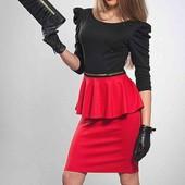 ☀️ Классное платье с баской