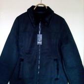 Нова з еко замші куртка -дубльоночка з Німеччини. Пиреться в пральних машинках. роз..46-48, 48-50.
