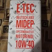 Моторное масло E-TEC