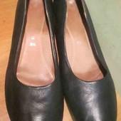 Туфли Gabor р.8.5 (ст.28см.) натуральная кожа