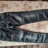 Утеплені джинси для дівчинки 7-9р.