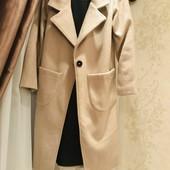 Крутое кашемировое пальто!Размер С,идёт в фирменной коробке