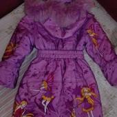 Класне пальто зима з феями,дивіться заміри