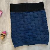 Вязаная юбка девочке