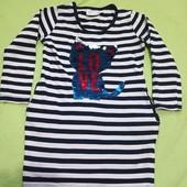 Плаття - туніка ( з карманами)
