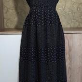 Собираем лоты!!! Женское лёгкое платье на резинке, размер M