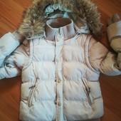 куртка зима 2в одном