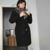 Женское кашемировое пальто!