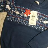 Фирменный дорогой свитерок, размер 122
