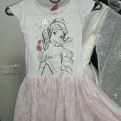 Платье на девочку 5-6лет замеры на фото
