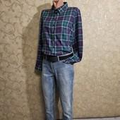 Собираем лоты!!! Супер классные комплект джинсы +рубашка, размер s-m