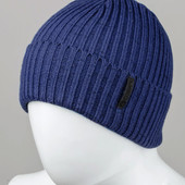 "Мужская шапка ""Rubber-S"" синяя"