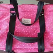 Котоновая вместительная сумка