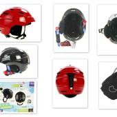 Детский защитный Шлем для лыж, сноуборда, роликов, самокатов, беговелов ХS (52-56 см) Германия