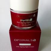 Антивозрастной ночной крем Optimals Age Revive. 50 мл срок до 05/2021 года! 35+