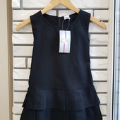 Детский Сарафан 100%котон плотная ткань, хорошее качество, чёрный и синий! Идеально для школы!