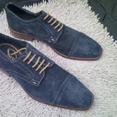 Дешево!!!Мужские элитные замшевые туфли stefano rossi Италия новые.