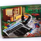 Настольная игра Монополия, блиц - доставка укрпошта безкоштовно!!!