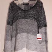 Последний!Роскошный теплый свитер (есть отзывы),54/56р,пог 62 см