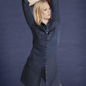 джинсовое платье-рубашка Esmara,40/42 евр,Л/ХЛ.